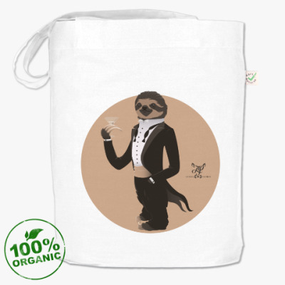 Сумка  Animal Fashion: S is for Sloth in Smoking