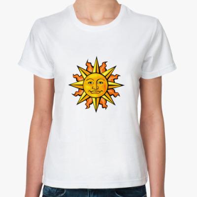 Классическая футболка   Солнце