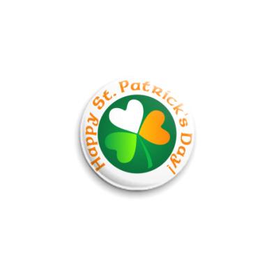 Значок 25мм St. Patrick's Day