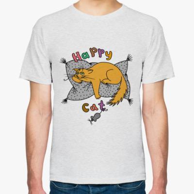 Футболка Happy cat