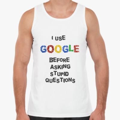 Майка I use Google
