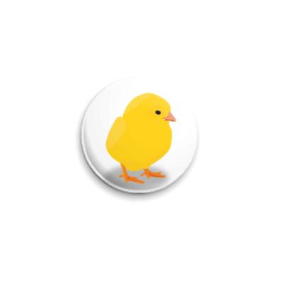 Значок 25мм Цыпленок