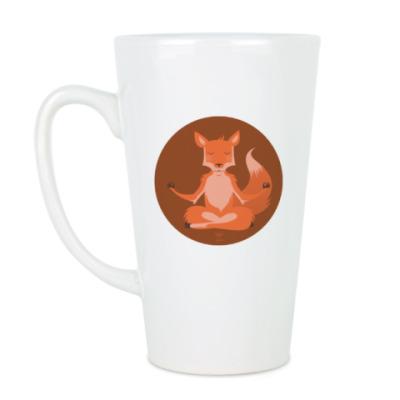 Чашка Латте Animal Zen: F is for Fox