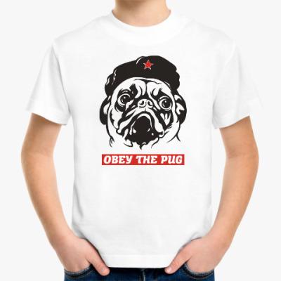 Детская футболка Obey the doggy