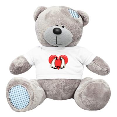 Плюшевый мишка Тедди Влюбленные сиамы
