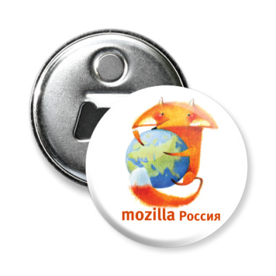 Магнит-открывашка -откр Mozilla 58 мм