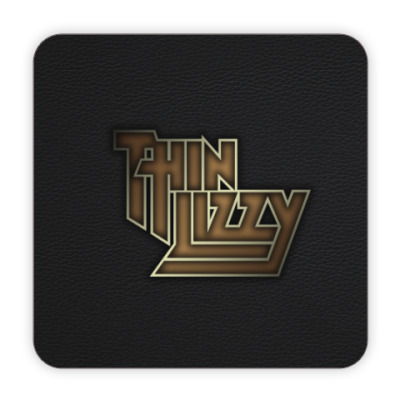 Костер (подставка под кружку) Thin Lizzy