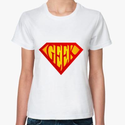 Классическая футболка Geek