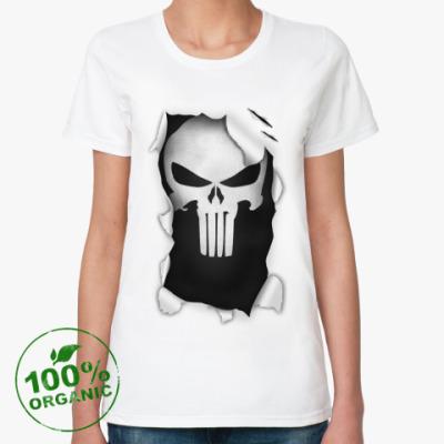 Женская футболка из органик-хлопка  'The Punisher'