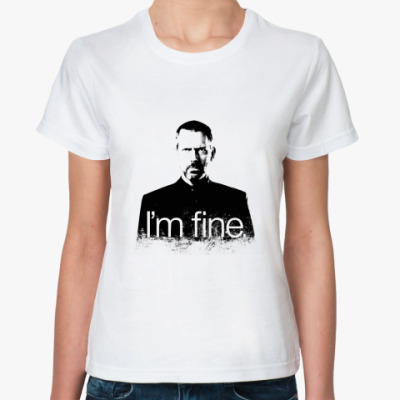 Классическая футболка Im fine