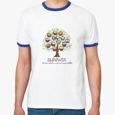 Футболка Ringer-T Tree Slov.
