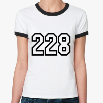 Женская футболка Ringer-T 228