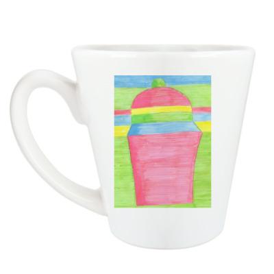 Чашка Латте Пирожное