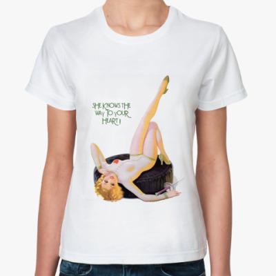 Классическая футболка Pin-Up Girl