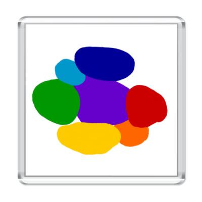Магнит Разноцветье