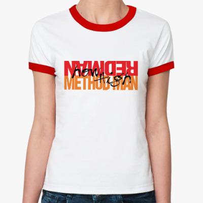 Женская футболка Ringer-T Method Man & Redman