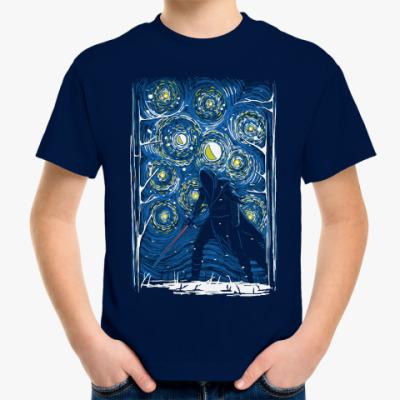 Детская футболка Dark Side Ван Гог