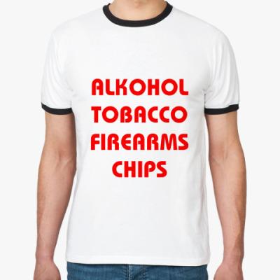 Футболка Ringer-T Chips (муж.)