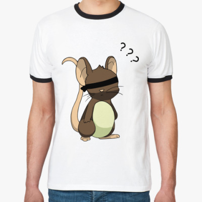 Футболка Ringer-T Мышь