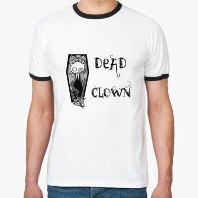 Футболка Ringer-T dead clown