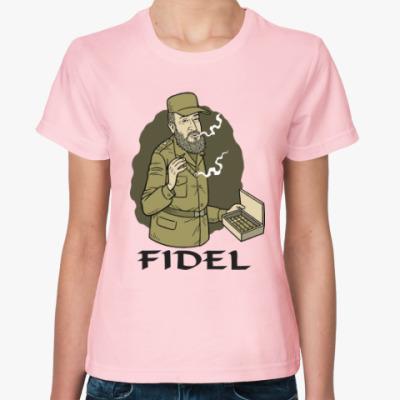Женская футболка Fidel