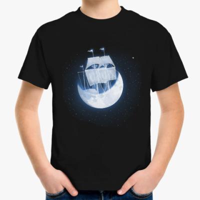 Детская футболка Лунный кораблик