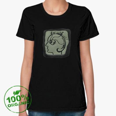 Женская футболка из органик-хлопка Нормальный эгоист