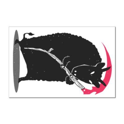 Наклейка (стикер) Мрачный убийца