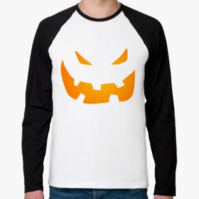 Футболка реглан с длинным рукавом Halloween
