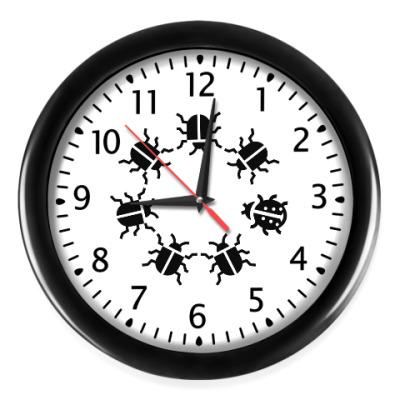 Настенные часы Другой жук
