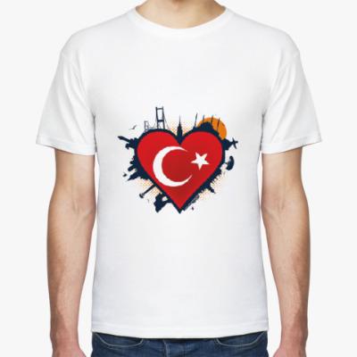 Футболка Сердце ислам