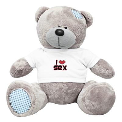 Плюшевый мишка Тедди I love sex