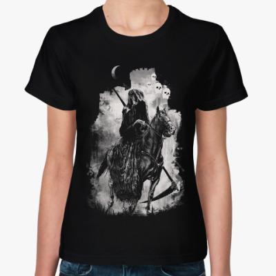 Женская футболка Четвёртый всадник