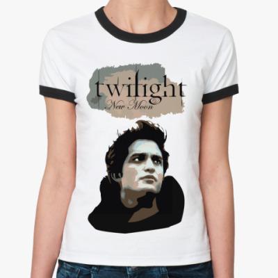 Женская футболка Ringer-T New moon