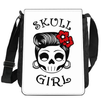 Сумка-планшет Skull_girl