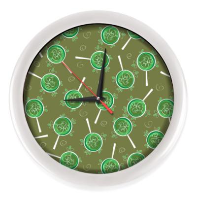 Настенные часы Сад