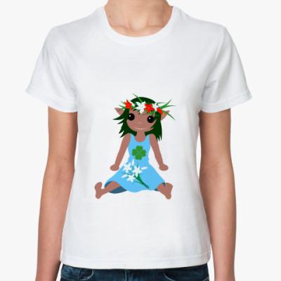 Классическая футболка Зета (весна)