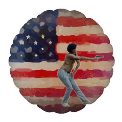 Подушка This is America