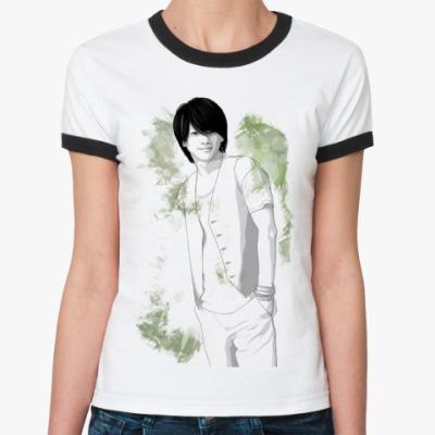 Женская футболка Ringer-T R-T  Массу