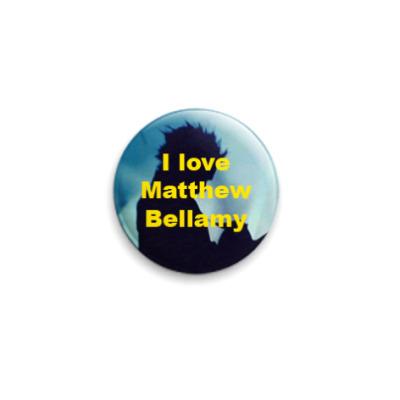 Значок 25мм  I love Matthew
