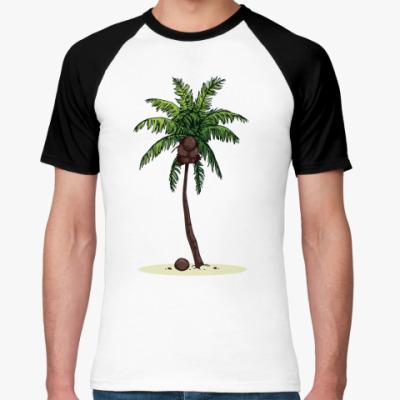 Футболка реглан Кокосовая пальма
