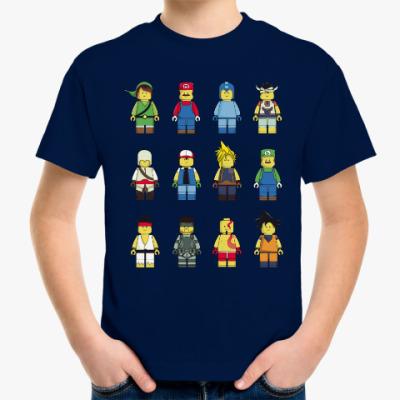 Детская футболка Лего Герои