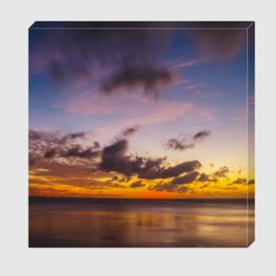 Холст Рассвет на море/ Sea sunrise