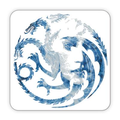 Костер (подставка под кружку) Khaleesi and Dragons