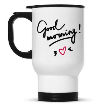 Кружка-термос Good morning/Доброе утро