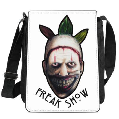 Сумка-планшет Freakshow horror clown