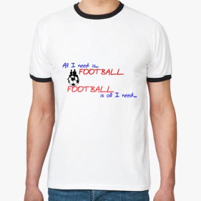 Футболка Ringer-T Футбол