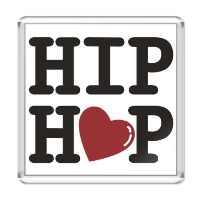 Магнит Люблю хип-хоп
