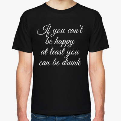 Футболка Be drunk
