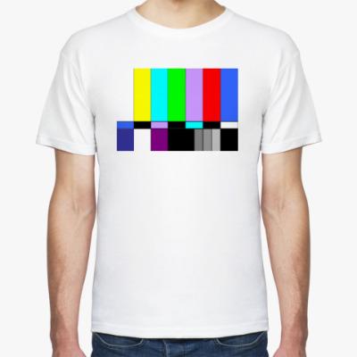 Футболка TVColorBars